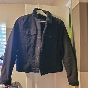 Levi's black jacket M